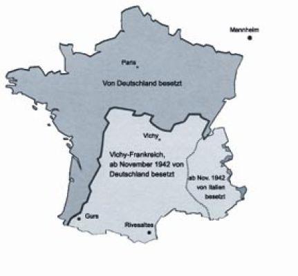 Mannheim Bundesland Karte.Souvenir De Gurs Lernen Aus Der Geschichte De